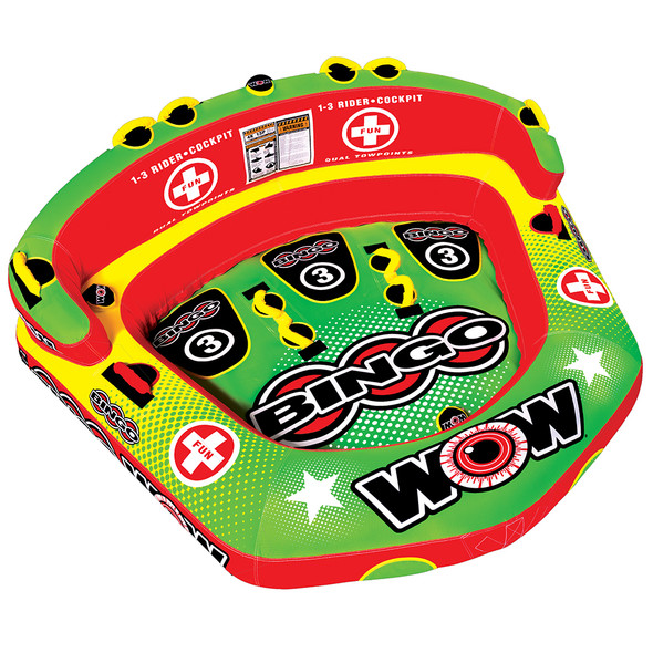 WOW Watersports Bingo 3 Towable - 3 Person