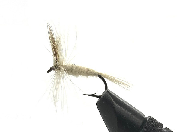 10 Flies -  Dry Light Cahill on a Bronze 8 Mustad Hook