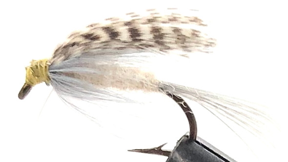 10 Flies -  Wet Light Hendrickson on a Bronze 10 Mustad Hook