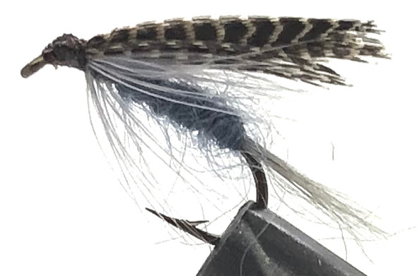 10 Flies -  Wet Dark Hendrickson on a Bronze 10 Mustad Hook
