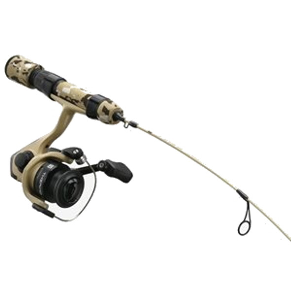 "13 Fishing - Thermo Ice Tactical Edition Ice Combo 28"" M - Desert Sand Camo"