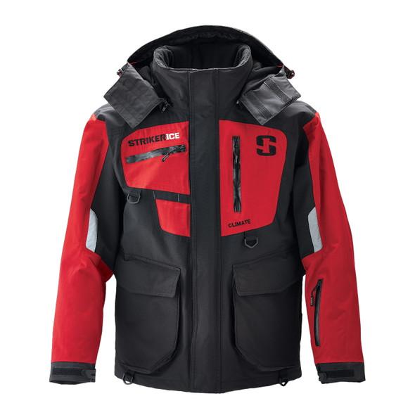 Striker Ice - Men's Climate Jacket - Black / Red