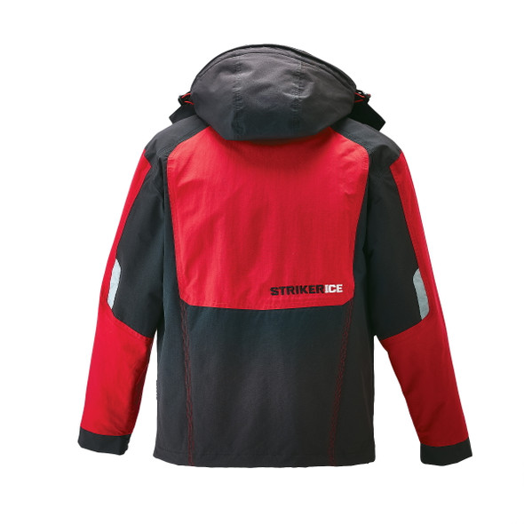 Striker Ice - Men's Climate Jacket - Black / Red