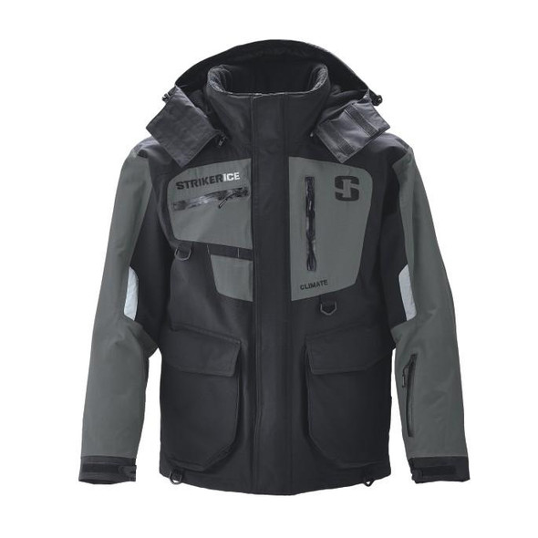 Striker Ice - Men's Climate Jacket - Black / Gray