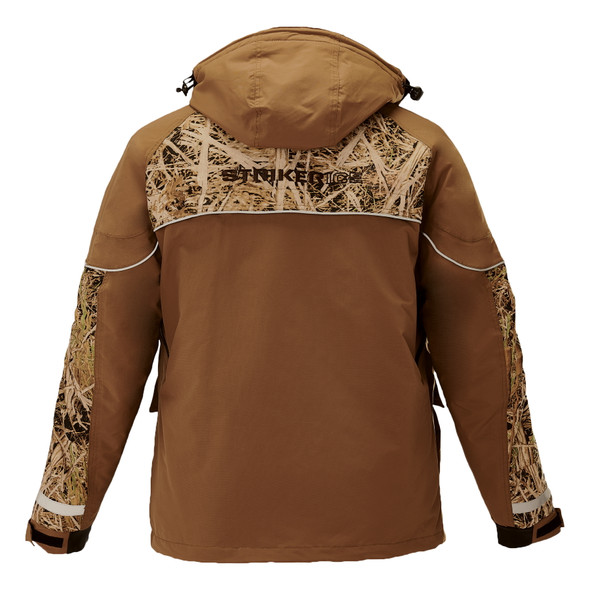 Striker Ice - Men's Climate Jacket - Light Brown / Camo