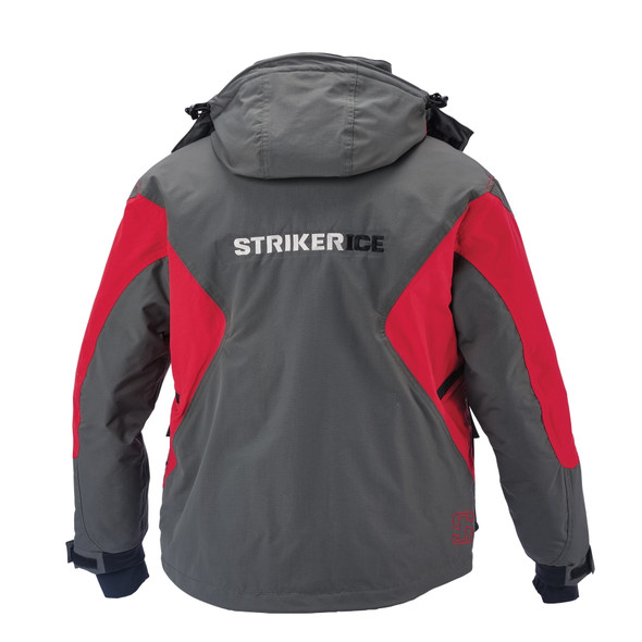 Striker Ice - Men's Predator Jacket - Gray / Red