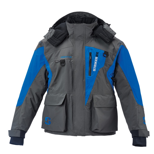 Striker Ice - Men's Predator Jacket - Gray / Blue