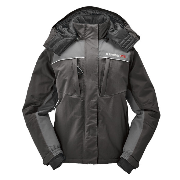 Striker Ice - Women's Prism Jacket - Black / Gray