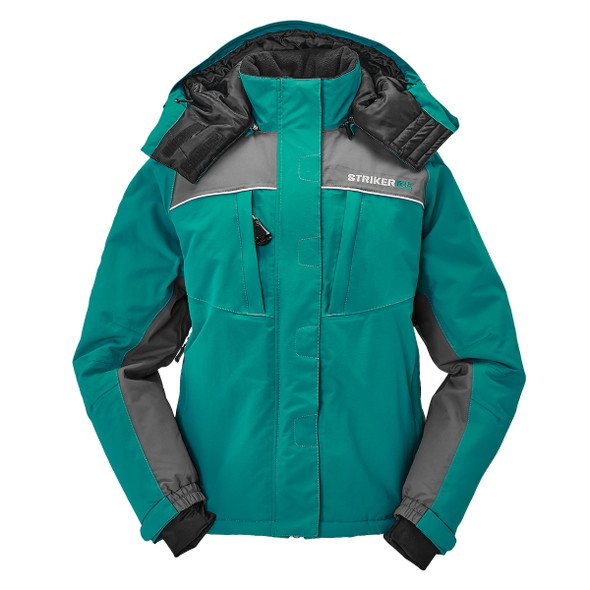 Striker Ice - Women's Prism Jacket - Emerald Teal / Gray