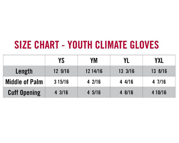 Striker Ice - Youth Climate Gloves