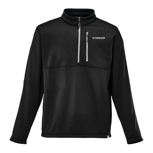 Striker Ice - Men's Waypoint Half Zip Jacket - Black