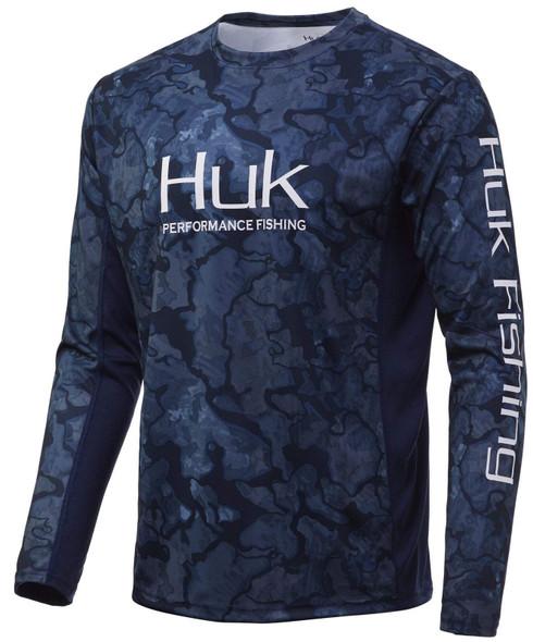 Huk Icon X Current Camo Hoodie - PEI