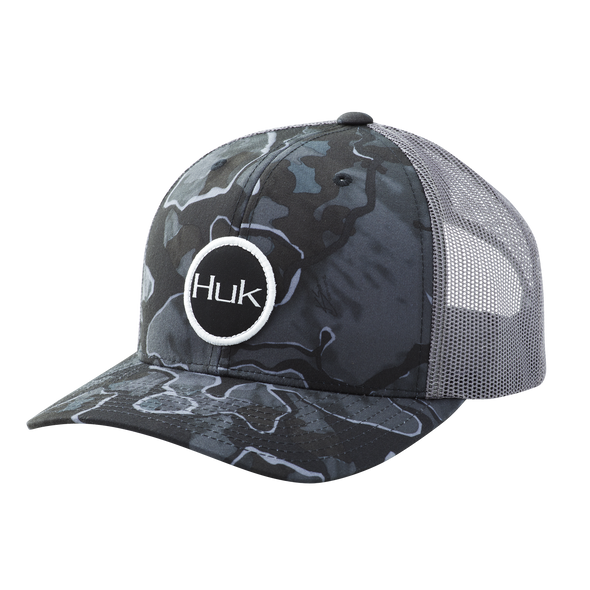Huk Current Camo Trucker - Hannibal Bank