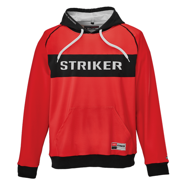 Striker Ice - Men's Knockout Hoody - Red