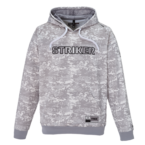 Striker Ice - Men's Instinct Hoody - Gray Camo