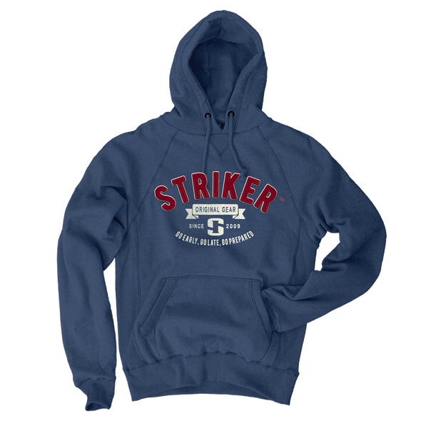 Striker Ice - Men's Heritage Hoody - Steel Blue