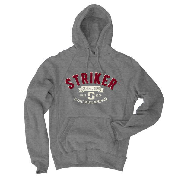 Striker Ice - Men's Heritage Hoody - Gunmetal