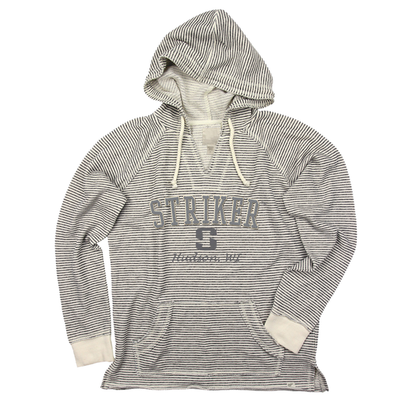 Striker Ice - Women's Lakeshore Hoody - Beige / Cinder