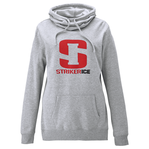 Striker Ice - Women's Striker Ice Logo Hoody - Gray