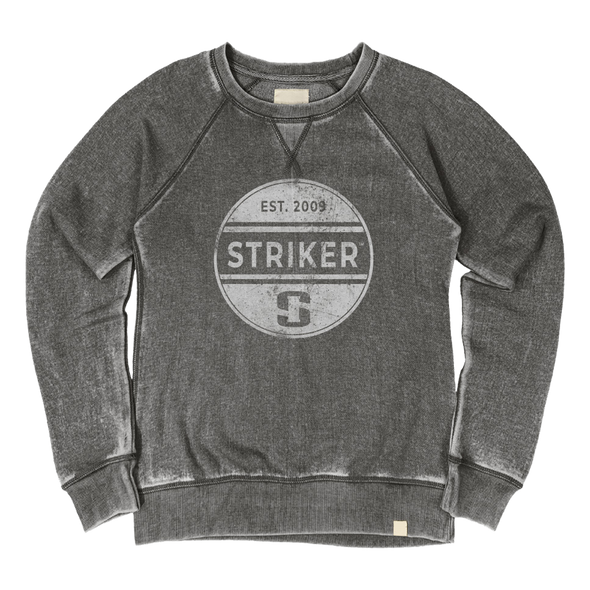 Striker Ice - Women's Eclipse Crew Sweatshirt - Charcoal