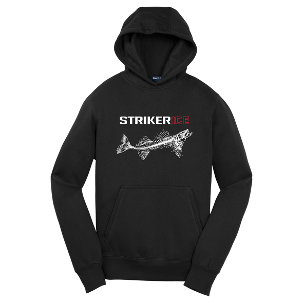 Striker Ice - Youth Striker Ice Logo Hoody - Black