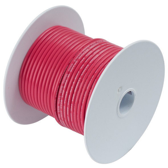 Ancor Red 12 AWG Tinned Copper Wire - 12'