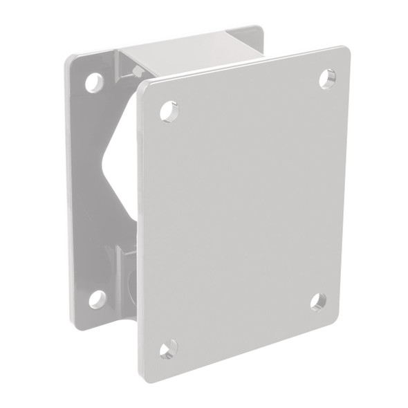 "Minn Kota 3""""  White Setback Bracket For Raptor"