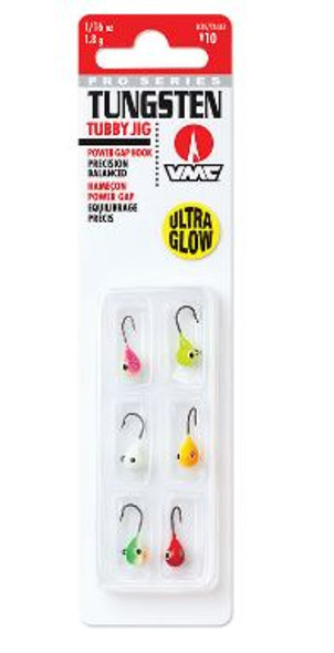 VMC Tungsten Tubby Jig Kit - 1/16oz.