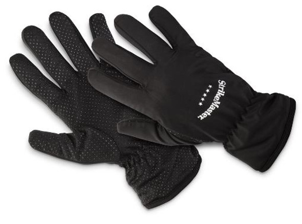 StrikeMaster Black Lightweight Gloves