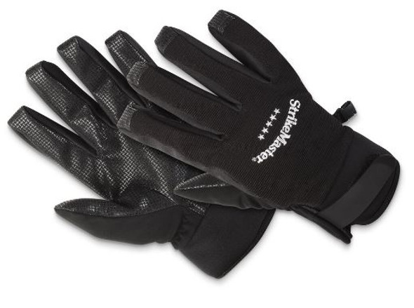 StrikeMaster Black Medium Weight Gloves