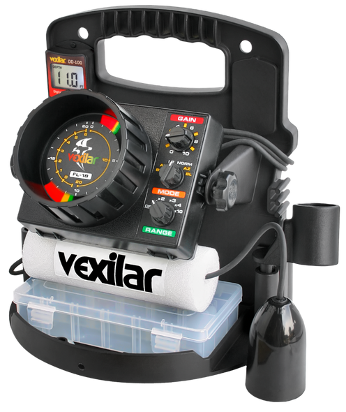 Vexilar FL-18 Pro Pack II & 12 Degree Ice-Ducer™ & DD-100