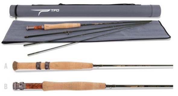 Temple Fork Outfitters - Finesse Series Trout 3 & 4-Piece Fly Rods