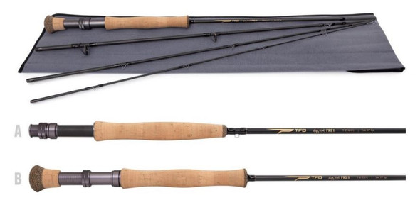 Temple Fork Outfitters - Pro II Series 4-Piece Fly Rods