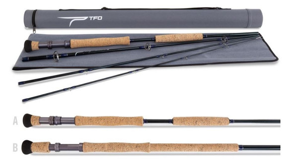 Temple Fork Outfitters - Bluewater SG Series 4-Piece Fly Rods