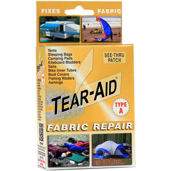Tear Aid Gold Fabric Repair Kit - Type A