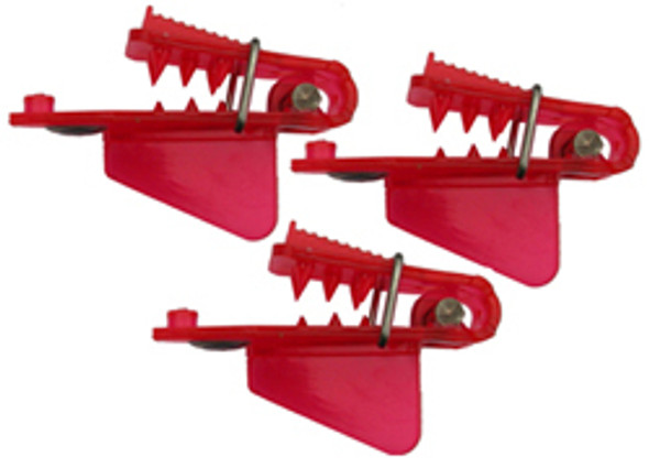 "Pro-Troll Roto Chip Head - #5b Red 3/4"" Wide Big Fin, Pack Of 3, With Echip - Unrigged"