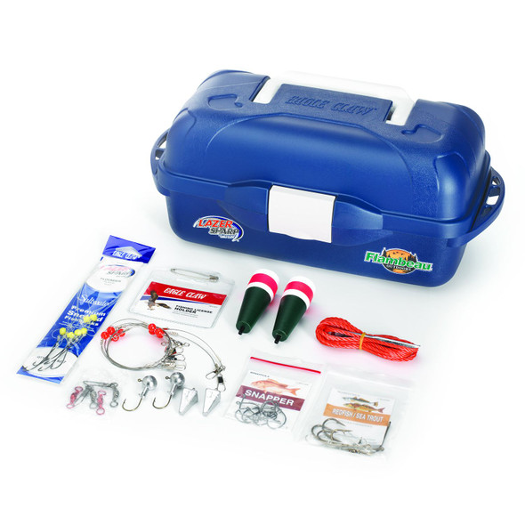 EC Lazer Saltwater Go Fish Tackle Box Kit