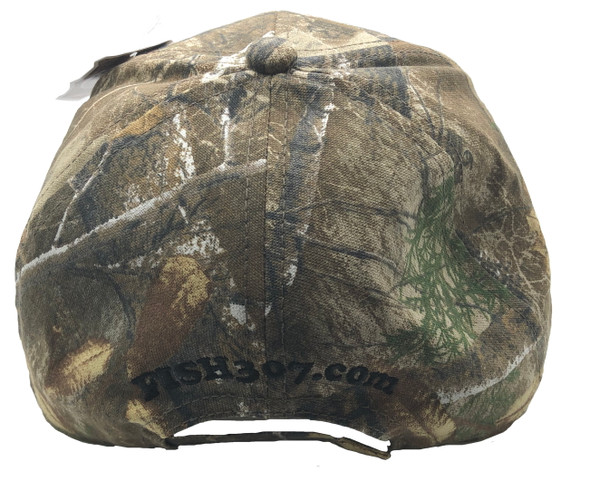 FISH307.com Realtree EDGE Camo Embroidered Logo Cap