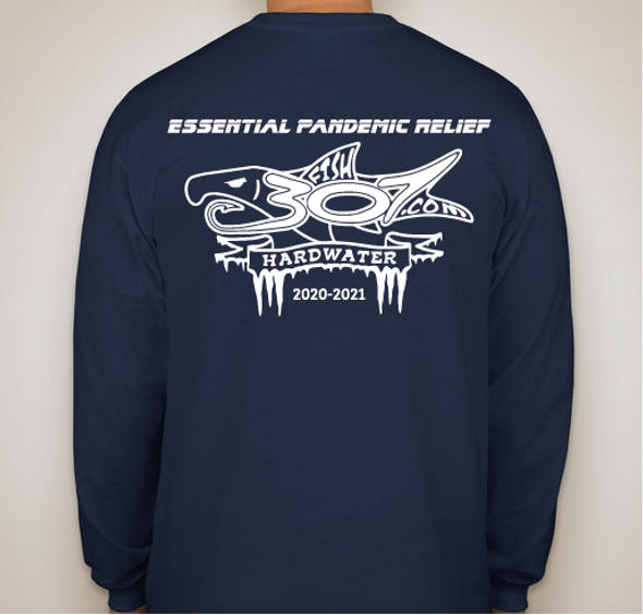 FISH307 Long Sleeve 2020-2021 Ice Fishing T-Shirt