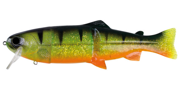 "CLEARANCE ~ Castaic 7.5"" Real Bait - Reno Orange"