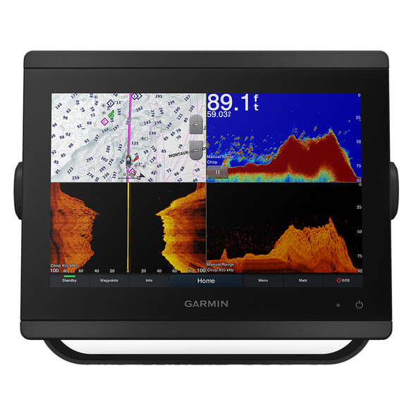 "Garmin GPSMAP 8410xsv 10"" Chartplotter/Sounder Combo w/Worldwide Basemap"
