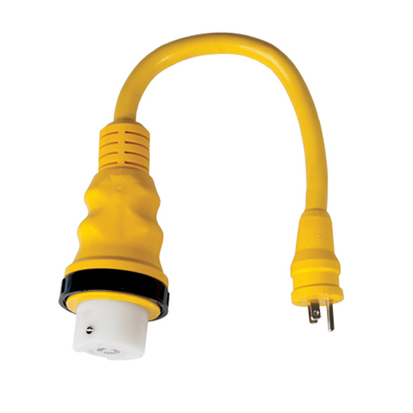 Marinco 15A to 50A 125/250V Pigtail Adapter