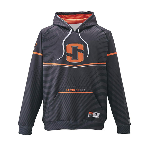 SI Striker Riot Hoody Orange Black Medium