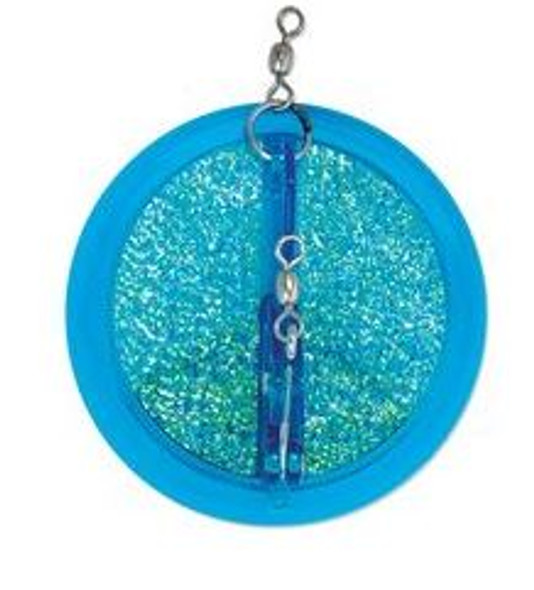 "Luhr Jensen Dipsy Diver - Fish Candy Blue UV - 3 1/4"""