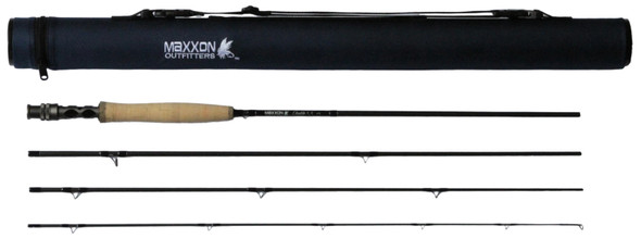 "Maxxon Double XX Fly Rod - 8'6"" 4WT Half Wells 4Pc"