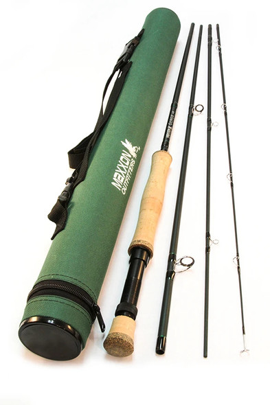 """Maxxon George Fly Rod - 8'6"""" 4WT Half Wells 4Pc"""