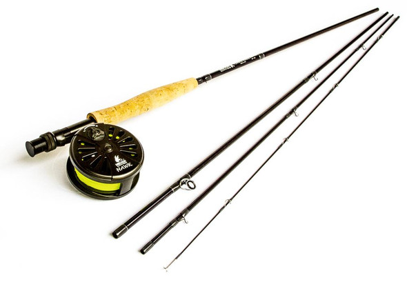 Maxxon Timber Hawk - Rod, Reel & Line Combo - 9' 8WT 4 PC