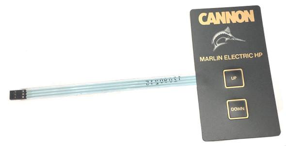 Cannon Downrigger Part - SWI EOL KEYPD MARLIN REG(TCTL) - 4464002
