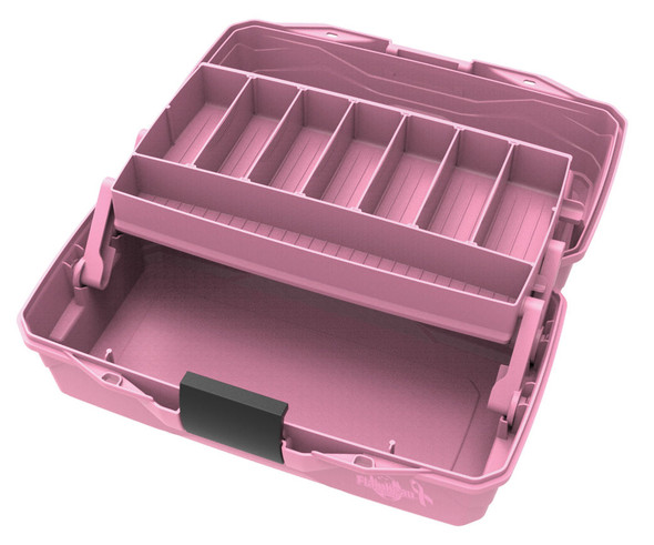 Flambeau 1 Tray-Pink Ribbon Hard Tackle Box
