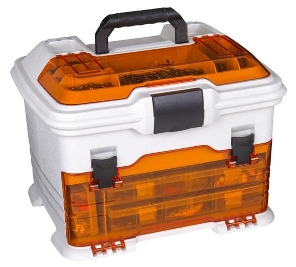 Flambeau T4 Multiloader Pro - Orange Hard Tackle Box